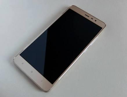 Redmi note 3 gold like new malang