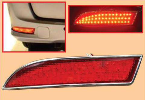 AVANZA XENIA CHROME LIST LED BUMPER BELAKANG