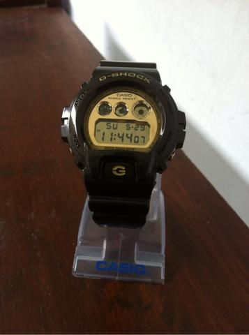 g-shock dw 6900BR gold