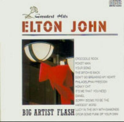 Cd Elton John greatest Hits big Artist Flash