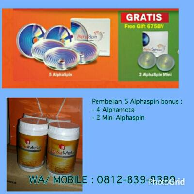 Paket Diamond Force Aphaspin Alpha Spin