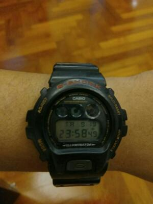 Jam Casio Gshock Japan DW 6600 2nd Original