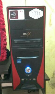 PC Gaming core 2 duo 6400 hdd 750gb vga amd 2gb bogor