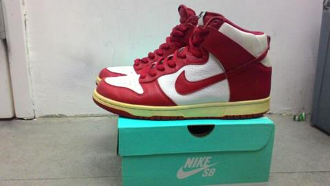 "NIKE SB DUNK HIGH ""CHICAGO"" (not jordan,nmd,adidas,supreme)"