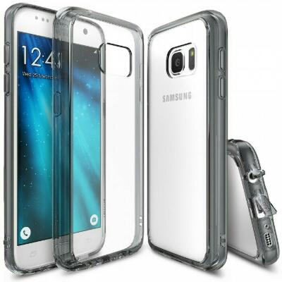 Ringke Fusion For Samsung Galaxy S7 / Case Smoke Black NEW and ORIGINAL 100%