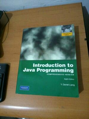 Buku Introduction to Java Programming 8th edition, Daniel Liang, Pearson