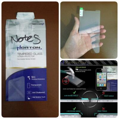TEMPERED GLASS NORTON FOR SAMSUNG GALAXY NOTE 5