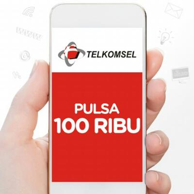 Pulsa telkomsel nominal 100.000