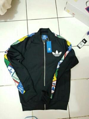 Adidas original Jacket Firebird, label sst, tongue label sst, Zebra Aop original bnwt