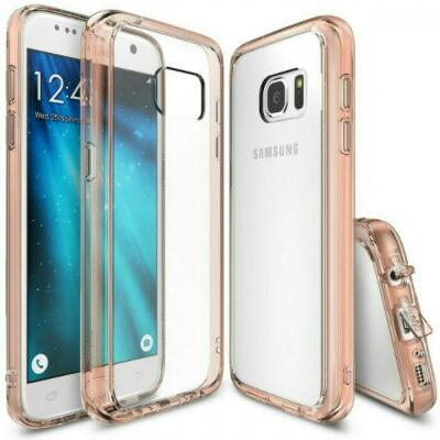 Ringke Fusion For Samsung Galaxy S7 / Case Rose Gold NEW and ORIGINAL 100%