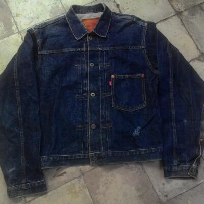 Trucker levis selvedge big e