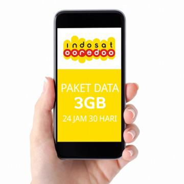 Indosat data 3gb 24jam