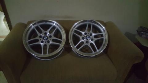 For sale velg bmw mparallel 18 8-9.5 original