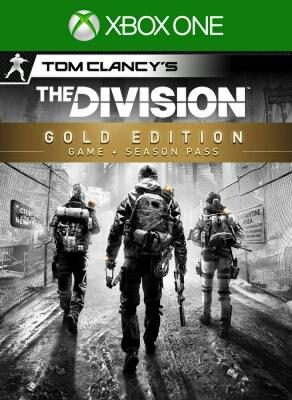 The Division Gold digital edition xbox one (pre order edition)