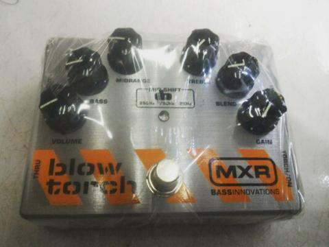 BNIB: MXR M-181 Bass Blowtorch 'Overdrive/Distortion' (US made)