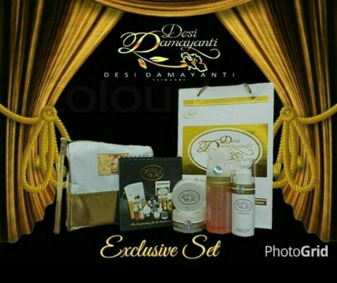 DDS SKINCARE paket Exclusive