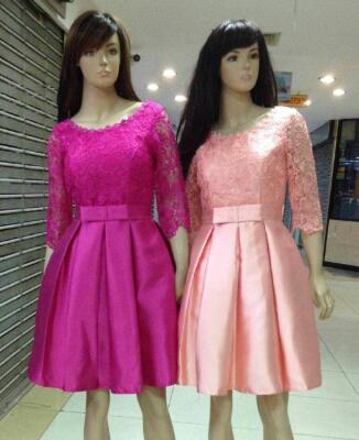 Terjual Dress Import Gaun Pesta Pendek Baju Pesta Korea Dress