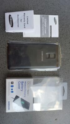 Note 4 ORIGINAL Wireless Charging Back Cover