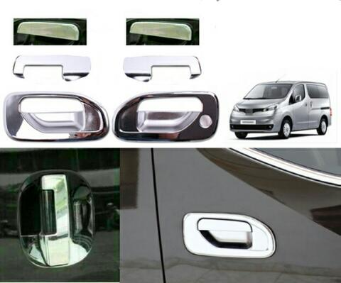 NISSAN EVALIA CHROME OUTER+HANDLE COVER PINTU