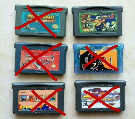 cartridge GAMEBOY SP/Classic POKEMON ori