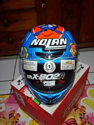Nolan X802R Aquarium melandri (not helm arai,shoei,agv,shark,hjc,soumy)