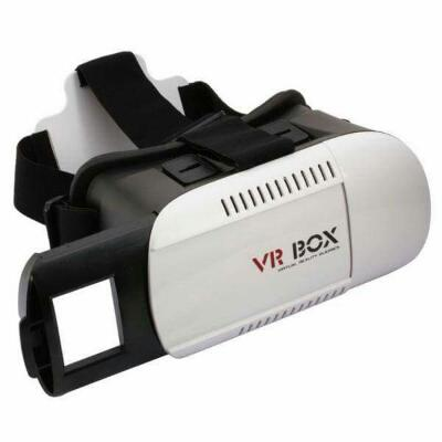 Virtual Reality Glasses Vr Box Cardboard 4th Gen For Smartphone 4.7 - 6.0 Inches
