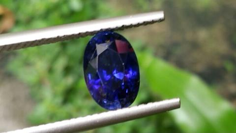 Natural HQ Unheated Vivid Royal Blue Sapphire Ceylon body glass Top Color stunning
