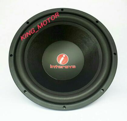 Subwoofer 12 Inch Single Coil Intersys KIT-62