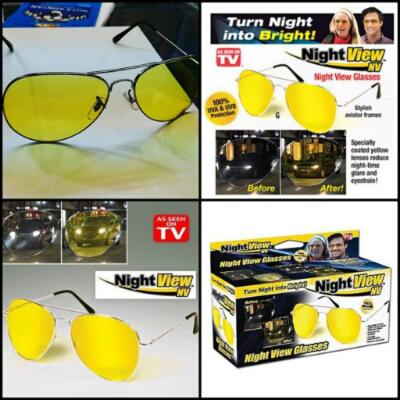 Terjual Night View Glasses Nightvision kacamata anti silau malam ... 9e532ea458