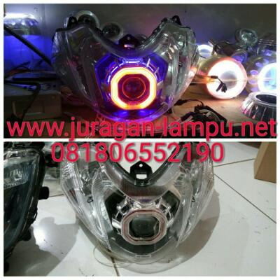Headlamp projectoe angel eye hid yamaha Mio Z Mio M3