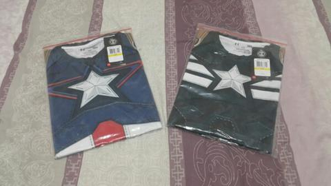 Baselayer Under Armour Captain America
