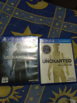 Wts Uncharted Trilogy & Uncharted 4 paketan