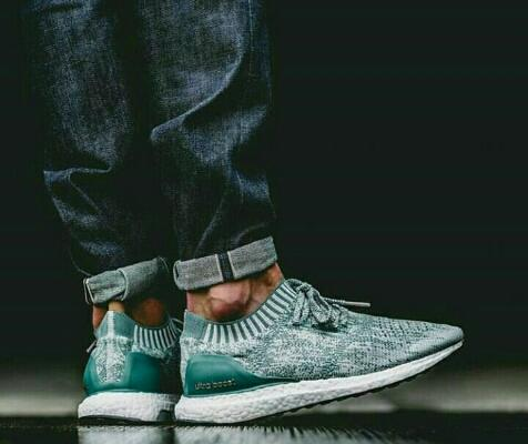 """ADIDAS ULTRABOOST UNCAGED GREEN WHITE """" PREMIUM QUALITY """""""
