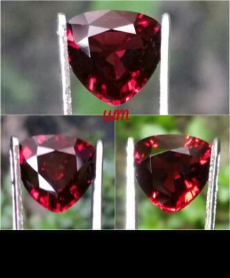 Natural HQ Untreated Red Spinel Myanmar Burma eye clean Body Glass