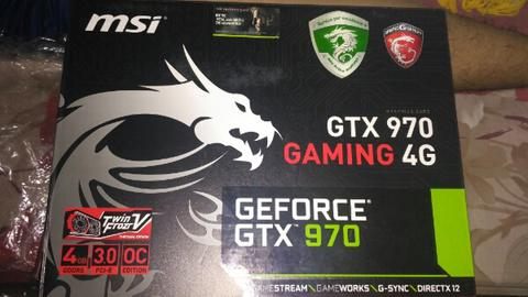 MSI GTX 970 gaming 4Gb