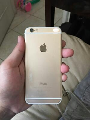 Iphone 6 64GB gold Exs garanti trikomsel