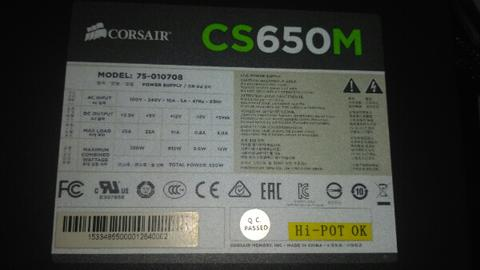 Corsair CS 650 M ( Gold )