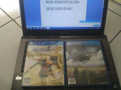 want to sell game ps4 ff 15 reg 3 dan ff type 0 reg 3