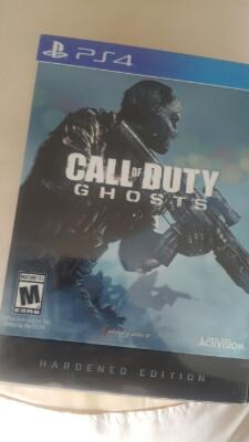 Bd ps4 CoD Ghost Hardened Ed Reg 1 komplit
