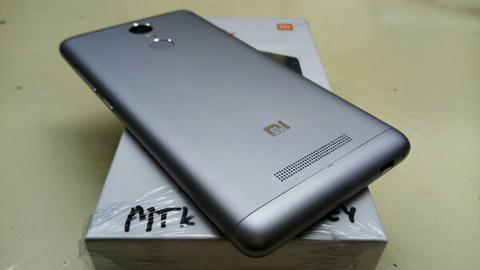 XiaoMi RedMi Note 3 MediaTek 3/32 Grey Edition Mulus Banget Like New