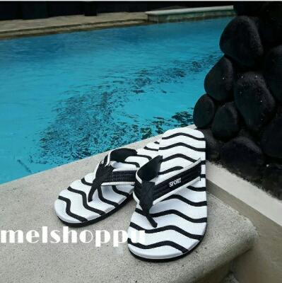Stripe Flip Flop Men