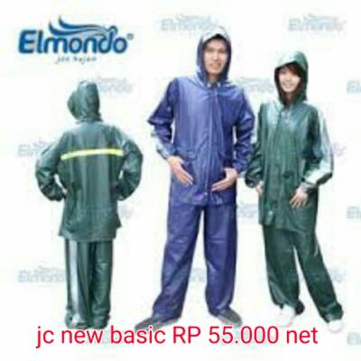 jas hujan elmondo new basic