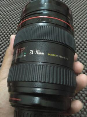 "Lensa Canon 24-70 F2.8L USM "" Optik Cling """