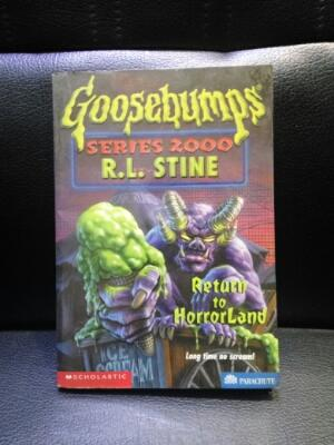 Return To Horrorland by R.L.Stine