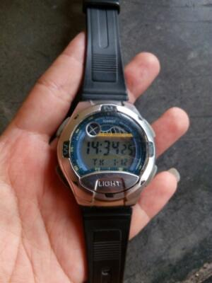 Casio dual time 5 alarm W753