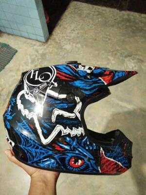 helm motocross fox