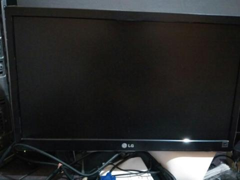 LED monitor LG 20 inch + TV tuner gadmei