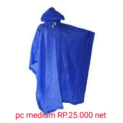 jas hujan ponco medium