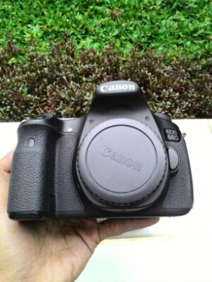 canon 60d body only mint ex ds sc rendah