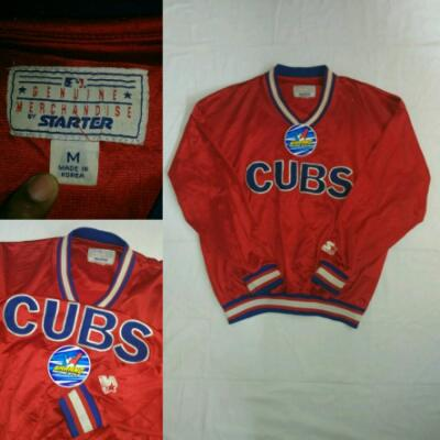 jaket chicago cubs starter